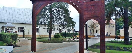 A Vécsey-park régen és most
