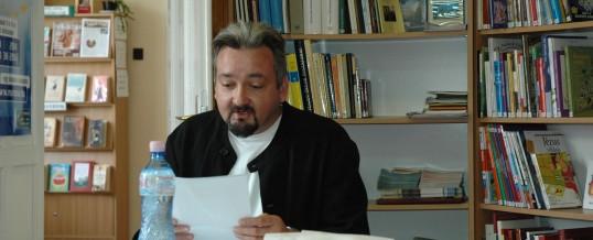 Író-olvasó találkozó Szőlősi Péterrel